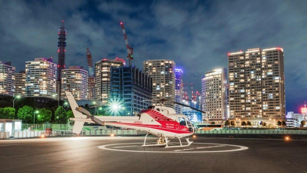 Yokohama helicopter tour