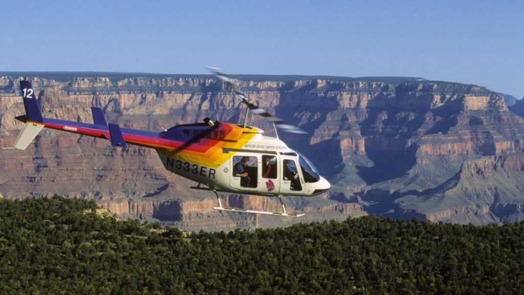 Grand Canyon South Rim helicopter tours